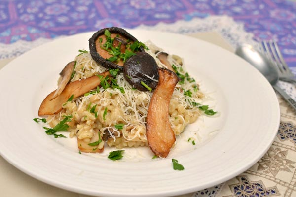 quick tasty recipe for risotto