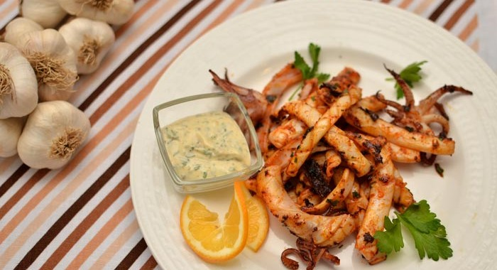 Homistro healthy tasty easy meals calamari